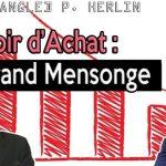 Pouvoir d'achat: Le grand mensonge. Il baisse depuis 2000. Philippe HERLIN nous le démontre !!
