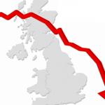 Royaume-Uni, plus forte baisse annuelle du PIB depuis 2012 en novembre