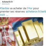 La Serbie et les Philippines rejoignent la chasse à l'or mondiale
