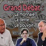 Débat: Étienne Chouard Vs Olivier DELAMARCHE: Ils ne sont pas d'accord !!