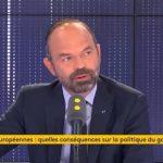 Il n'y aura pas de changement de cap du gouvernement quel que soit le résultat aux élections Européennes, assure Edouard Philippe.