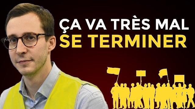 "François Boulo - Gilets Jaunes: ""Ca Va Très Mal Se Terminer !"""
