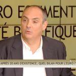 Olivier Delamarche dans C'EST CASH: «L'Euro c'est comme le communisme ! Si ça n'a pas fonctionné, c'est qu'il n'y en a pas eu assez !!»