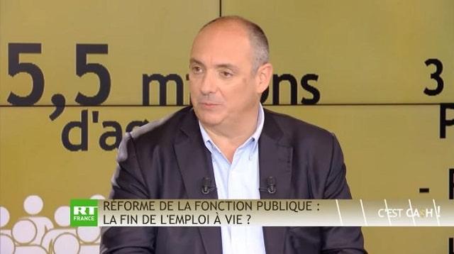 Olivier Delamarche dans C