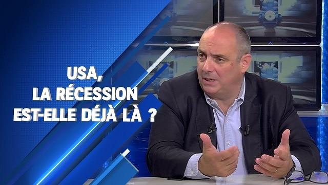 Olivier Delamarche: Pourquoi les USA sont déjà en récession !