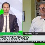 L'avis de Philippe Béchade sur les dispositifs anti-fake news en direct souhaités par LREM