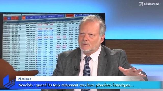 Marchés: quand les taux retournent vers leurs planchers historiques... Avec Philippe Béchade