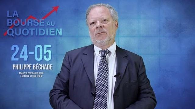 """Philippe Béchade – Séance du Vendredi 24 Mai 2019: """"Le pétrole, un bon refuge ? Et bien non !"""""""