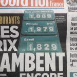 Le litre de 98 bientôt à… 2 euros !!!