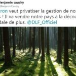 """Benjamin Cauchy: """"Macron veut privatiser la gestion de nos forêts ! Il va vendre notre pays à la découpe ! Scandale de plus !!"""""""