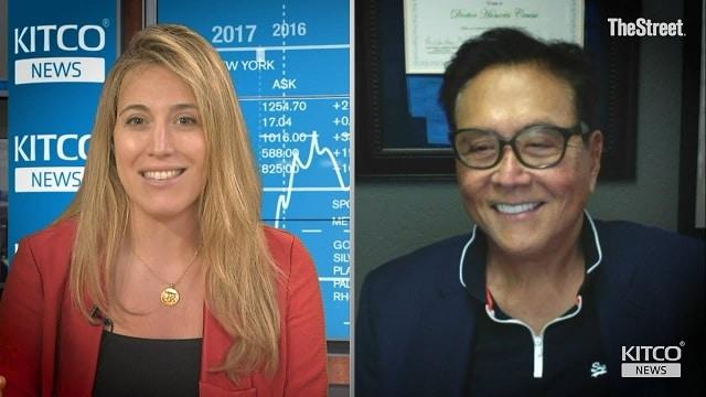 """Robert Kiyosaki: """"Face aux incertitudes croissantes dans le monde, il est logique que de nombreux investisseurs se ruent sur l"""