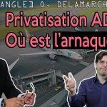 """Privatisation d'ADP : """"Qui va toucher son chèque ?""""… Avec Olivier Delamarche"""