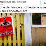La Banque de France augmente le niveau d'alerte sur l'endettement