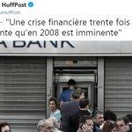 Jean-Luc Ginder: «Une crise financière trente fois plus puissante qu'en 2008 est imminente mais nous sommes dans le déni !»