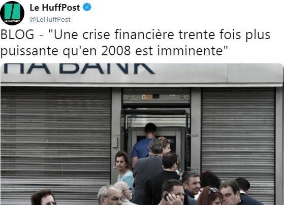 """Jean-Luc Ginder: """"Une crise financière trente fois plus puissante qu"""