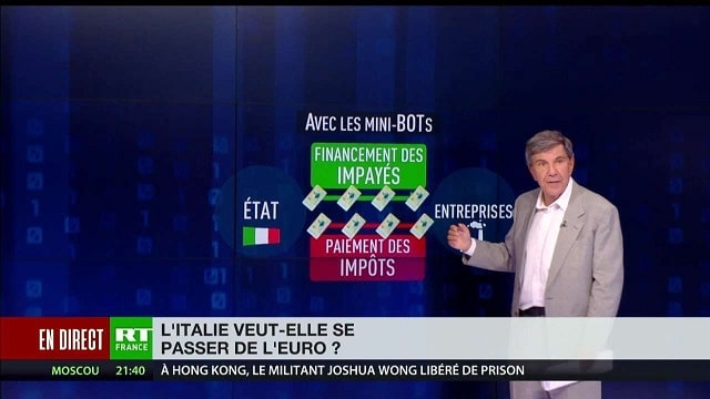 L'Italie veut-elle se passer de l'euro ?... Avec Jacques Sapir