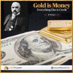 JP Morgan: «L'or est une monnaie, tout le reste est du crédit !»