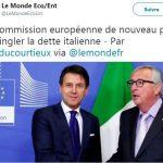 La Commission européenne de nouveau prête à épingler la dette italienne