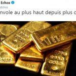 L'or s'envole au plus haut depuis plus de cinq ans
