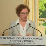 """Muriel Pénicaud – Lapsus: """"C'est une réforme résolument tournée vers le travail, vers l'emploi, contre le chômage et POUR LA PRÉCARITÉ !!"""""""