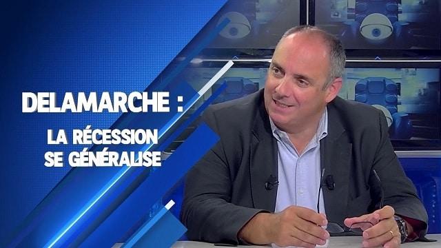 """Olivier Delamarche: """"La récession se généralise et on revient à un risque systémique partout !"""""""