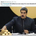 Le Venezuela fait défaut sur son swap d'or avec Deutsche Bank