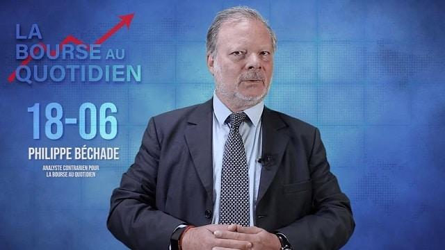"""Philippe Béchade – Séance du 18/06/19: BCE: """"Taux négatifs, Quantitative easing à gogo,... plus accommodant que moi tu meurs !"""""""