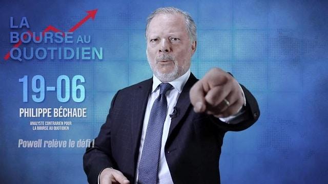 """Philippe Béchade – Séance du 19/06/19: """"BCE: plus accommodant que moi tu meurs... Eh bien Powell relève le défi !!!"""""""