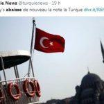 Moody's abaisse la note de la dette turque dans la catégorie des titres pourris (Junk). La probabilité de défaut dans les 5 ans a bondi à près de 28%