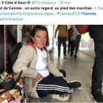 Festival de Cannes: derrière le faste, une misère bien visible
