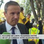 Nicolas Dupont-Aignan: «Le vote du CETA va définitivement tuer l'agriculture française !»