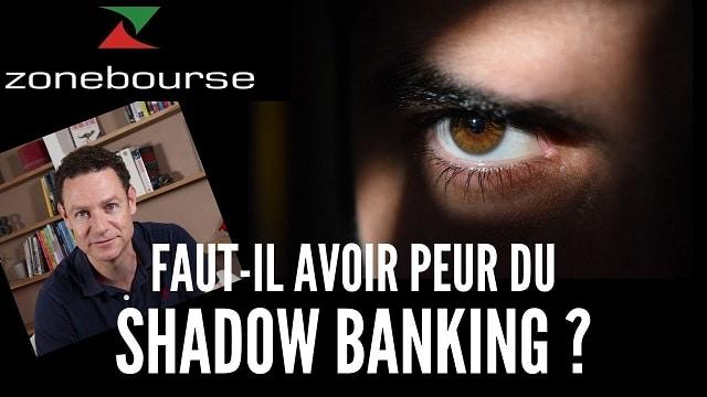 Le poids du Shadow Banking lui a fait atteindre une dimension systémique. Si ce secteur subit une crise, il entraînera toute l'économie avec lui !!