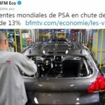 Oups ! Les ventes mondiales de PSA en chute de près de 13% au premier semestre 2019