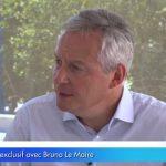 Bruno Le Maire: «Il faut poursuivre notre réduction de la dépense publique»