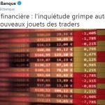 Crise financière: l'inquiétude grimpe autour des nouveaux jouets des traders