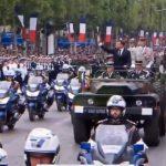 Emmanuel Macron largement hué et sifflé par la foule durant toute la descente des Champs-Elysées ce Dimanche 14 Juillet 2019 !