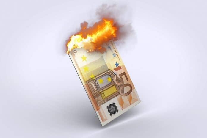 L'Euro coule ! Après avoir plongé de -24,7% face à l'or en 2019, il en est déjà à -11,2% de perdu depuis le début de l