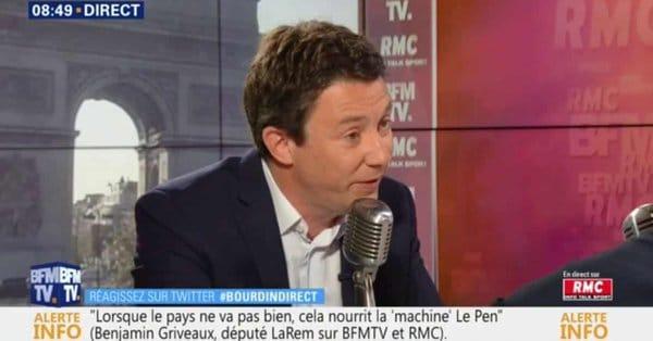 «C'est un fils de p***»: les injures de Griveaux envers ses concurrents à la mairie de Paris