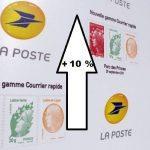 La Poste : le prix du timbre va augmenter de 10% au 1er janvier 2020