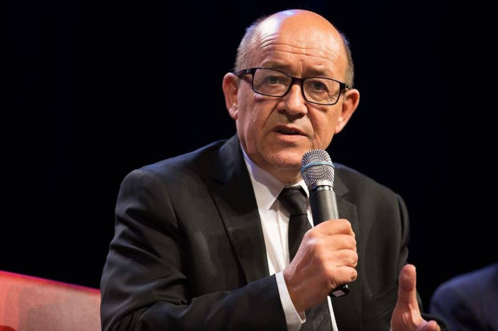 La France redoute des « accidents » au Moyen-Orient selon le Drian