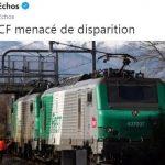Fret SNCF menacé de disparition