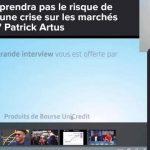 Face à la prochaine crise et aux pessimistes: les arguments des optimistes comme Patrick Artus