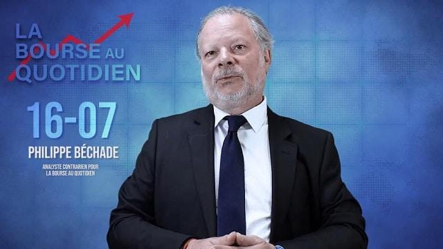 """Philippe Béchade – Séance du Mardi 16 Juillet 2019: """"Des records et encore des records à Wall Street ! Mais d"""