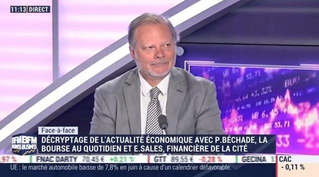 """Philippe Béchade: """"On a les plus faibles volumes depuis l"""