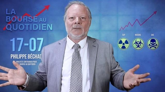 """Philippe Béchade – Séance du Mercredi 17 Juillet 2019: """"13 séances de plafonnement sous 5620... La structure de la hausse est malsaine au possible"""""""