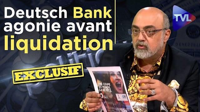 "Exclusif - Pierre Jovanovic: ""Deutsche Bank, agonie avant liquidation !"" - Politique-Eco n°223"
