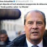 """Sept députés et huit sénateurs soupçonnés de détournement de fonds publics, selon """"Le Monde"""""""