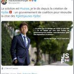 """Nicolas Perrin: """"Joachim Son-Forget: celui qui a décidé de faire de la politique autrement"""""""