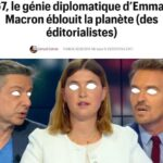 """Philippe Herlin: """"Au G7, le génie diplomatique d'Emmanuel Macron éblouit la planète… des éditorialistes (Télérama). Toute ressemblance avec la Pravda est purement fortuite"""""""