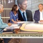 """Olivier Delamarche dans C'EST CASH: """"Encore une fois, une preuve de l'incompétence de nos autorités avec le CETA, traité qui nous est défavorable !"""""""